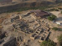 תל חצור. צילום: skyview באדיבות האוניברסיטה העברית