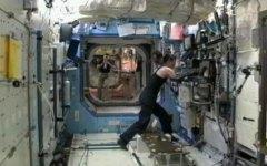 טרייסי קולדוול דייסון שבה לעסוק במשימות על תחנת החלל הבינלאומית, 24 בספטמבר 2010 לאחר ששעזיבת החללית סויוז TMA-18 נדחתה הלילה בגלל תקלה