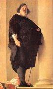 """אדם שמן. """"הגנרל הטוסקני"""", ציור מאת אלסנדרו דל בורו, המאה ה-17. מתוך ויקיפדיה"""