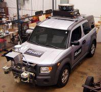 פיתוח מכונית ל DARPA Urban Challenge של 2007