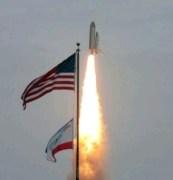 """שיגור המעבורת אטלנטיס בפעם האחרונה, 8/7/2011. צילום: נאס""""א"""