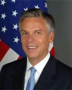 ג'ון הנטסמן. תמונה מתקופת היותו שגריר בסין. מתוך ויקיפדיה