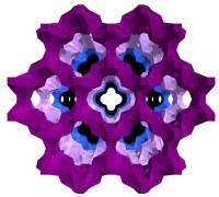 גביש ננומטרי מהחומר physchem zeolite. צילום: אוניברסיטת גוטנברג