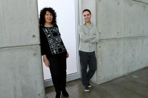 אסף רובינשטיין ופרופ' עדי קמחי. דו-תכליתי. צילום: מכון ויצמן