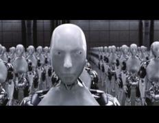 המוח האנושי ביסודו אינו אלא מכונה. אין בו דבר שאי אפשר, עקרונית, לשכפל. מתוך הסרט i Robot