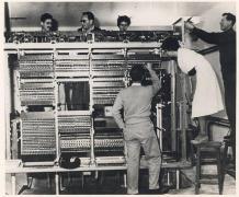 המחשב הראשון בישראל - WEIZAC. צילום: מכון ויצמן