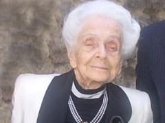 ריטה לוי-מונטלצ'יני זוכת פרס נובל לרפואה לשנת 1986
