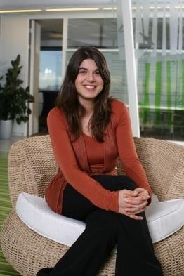 קירה רדינסקי, דוקטורנטית בטכניון. צילום: דוברות הטכניון