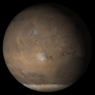 מאדים, היעד השני של צוות המעבר הקרוב המשולש. Credit: NASA