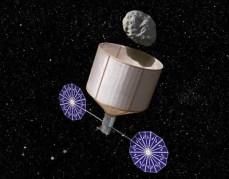 לכידת אסטרואיד בקוטר 7 מטרים ובמשקל 500 טונות. קרדיט: Rick Sternbach / KISS