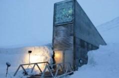 הכניסה לבנק הזרעים הגלובלי בסוולברד. קרדיט: Svalbard Global Seed Vault/Mari Tefre/Wikimedia Commons