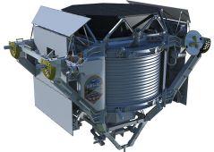 מתקן AMS Alpha Magnetic Spectrometer מהסוג המותקן בתחנת החלל הבינלאומית. מתוך ויקיפדיה