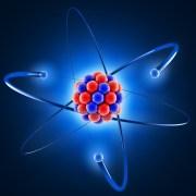 הדמיה תלת ממדית של אטום. איור: shutterstock