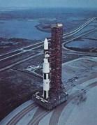 """החלקים הראשונים של מעבדת סקיילב כל כן השיגור. צילום: נאס""""א"""