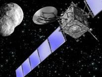 החללית רוזטה. איור: סוכנות החלל האירופית