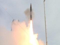ניסוי מוצלח במערכת חץ 3 פברואר 2013. באדיבות התעשיה האווירית ודוברות משרד הבטחון