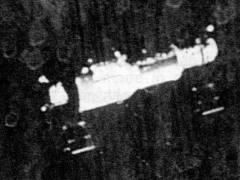 מעבדת החלל סליוט 1 כפי שנראתה מהחללית סויוז 11 שהביאה אליה אסטרונאוטים. מתוך ויקיפדיה