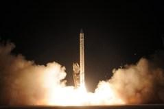תמונת ארכיון משיגור אופק 9 בשנת 2010. צילום: דוברות משרד הבטחון והתעשיה האווירית
