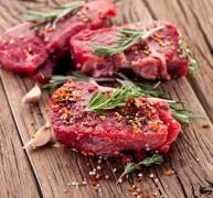 שתי מנות בשר אדום לשבוע - סטייקים. צילום: shutterstock