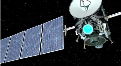 """החללית Dawn של נאס""""א. צילום: JPL"""