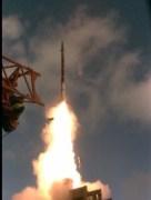 ניסוי מערכת ההגנה מפני טילים 'שרביט קסמים'. צילום יחצ - דוברות משרד הבטחון