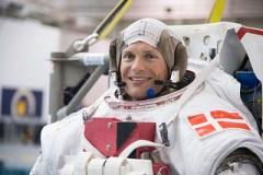 האסטרונאוט אנדראס מוגלסן. צילום: סוכנות החלל האירופית