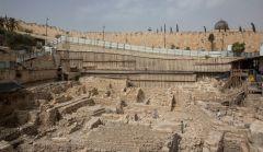 שרידי המצודה. צילום: אסף פרץ, באדיבות רשות העתיקות