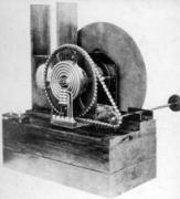 משדר הטלוויזיה המכאנית של ג'ון ביירד, במוזיאון המדע של לונדון
