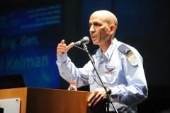 טל קלמן, ראש מטה חיל האוויר בכנס החלל 2016. צילום: חן דמארי