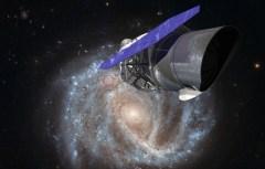 """טלסקופ החלל WFIRST. איור: נאס""""א"""