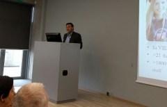 פרופ' יוזואס לזוטקה, ראש המרכז המאוחד למדעי החיים, אוניברסיטת וילנה. צילום: אבי בליזובסקי