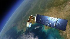 """לוויינים מאפשרים לאתר אזורים מוכי עוני קיצוני באפריקה. הדמייה של לוויין מסדרת Landsat, שבין היתר מאפשרת לסייע לאזורים מוכי עוני. מקור: נאס""""א."""