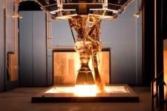 ניסוי במנוע מרלין במתקן של ספייס אקס בטקסס, 2012. מקור: SpaceX.