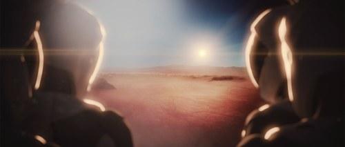 הדמייה של אסטרונאוטים על מאדים, לפי החזון של ספייס אקס ליישב את כוכב הלכת. מקור: ספייס אקס.