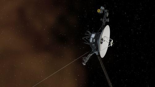 איור של החללית וויאג'ר 1. מקור: NASA/JPL-Caltech.