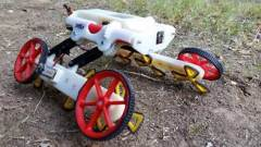רובוט בעל יכולת עבירות גבוהה שפותח במעבדתו של פרופ' דוד זרוק, אוניברסיטת בן גוריון. צילום יחצ