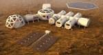 מושבה במאדים. איור: shutterstock