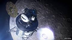 המחשה של נחתת ירח. איור: NASA