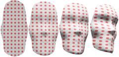 """והיה המישור לפנים: תהליך הפיכתה של יריעת אלסטומר נמטי למשטח תלת-ממדי עקום דמוי פנים. איור: מעבדתו של ד""""ר הלל אהרוני, מכון ויצמן"""