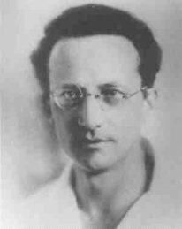 שרדינגר בצעירותו בשנת 1914. מקור: ויקיפדיה