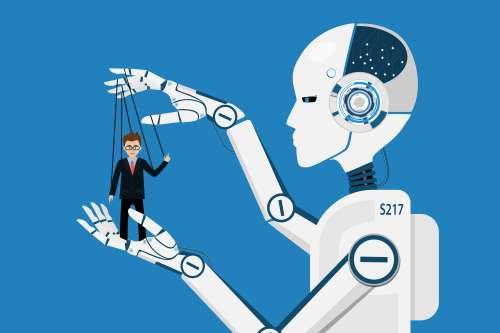 רובוטים משתלטים על מקומות העבודה. איור: shutterstock
