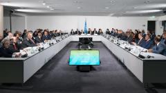 מפגש ראשי ארגונים ומדינות בכנס COP 23 בבון, 15 בנובמבר 2017. מקור: UNclimatechange.