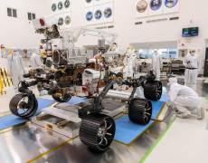 הרכב המאדימאי פרזרבנס, בבניה לקראת שיגורו בקיץ 2020. צילום סוכנות החלל האירופית
