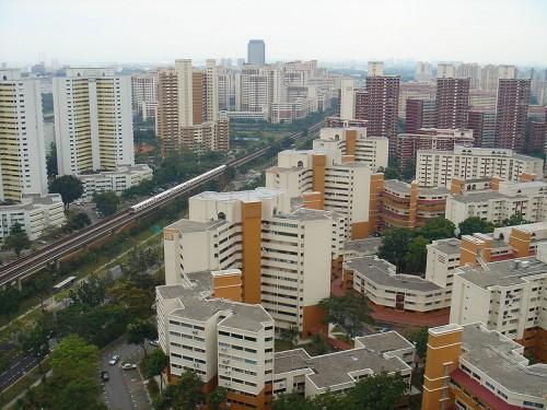 סביבה עירונית בסינגפור. מתוך ויקיפדיה