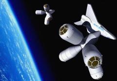 מלון בחלל שמתכננת גלקטיק סוויט לפתוח ב-2012