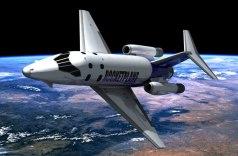 איור של מטוס החלל המסחרי Rocketplane