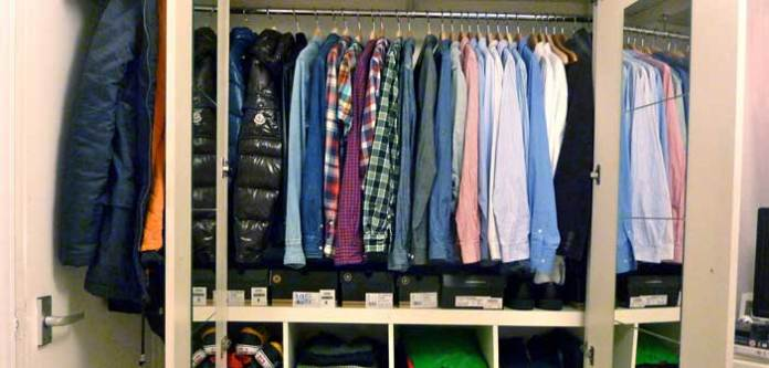 Dolaptaki Giysilerin Kırışması