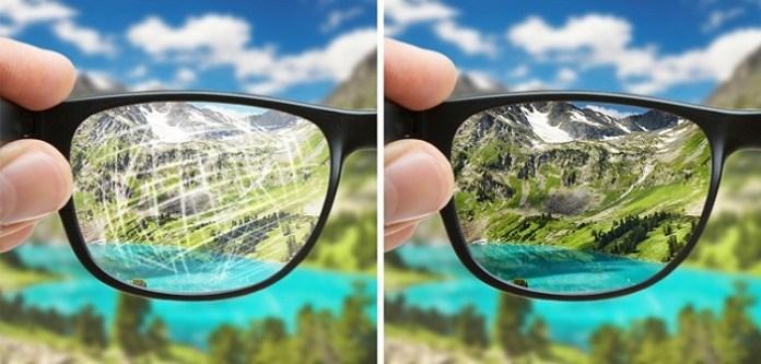 Gözlük Camındaki Çizikleri