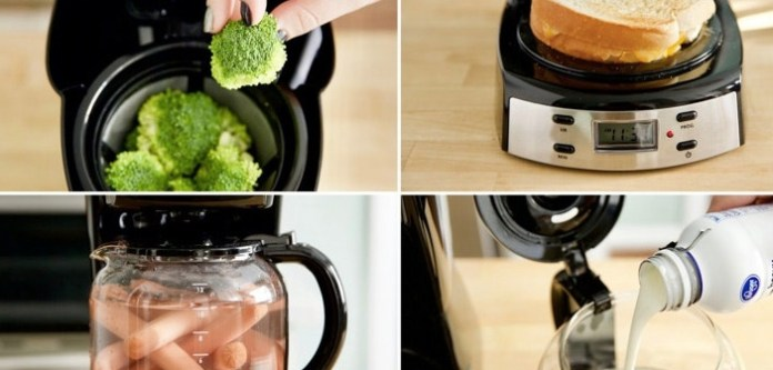Kahve Makinesiyle Yapabileceğiniz 9 Harika Şey