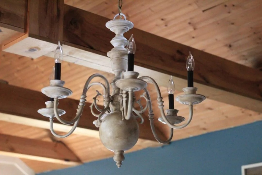5 thrift store chandelier makeover two paws farmhouse i am so excited to share my 5 thrift store chandelier makeover with all of you today when we moved into our old farmhouse everyone who visited loved our aloadofball Gallery